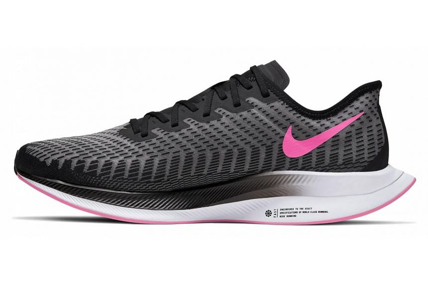 The Pegasus Turbo 2 uses the same ZoomX midsole as the Zoom Vaporfly 4%, which offers the highest energy return in Nike's stable.