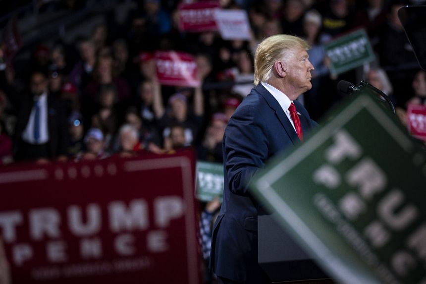 US President Donald Trump maintains he did nothing wrong and has called the impeachment inquiry a witch hunt by a party that wants to undo his electoral victory in 2016.