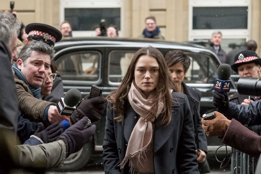 Keira Knightley plays Katharine Gun, a translator working for British intelligence who in 2003 leaked a troubling e-mail that suggested covert attempts by the United States to coerce diplomats into supporting the Iraq war.