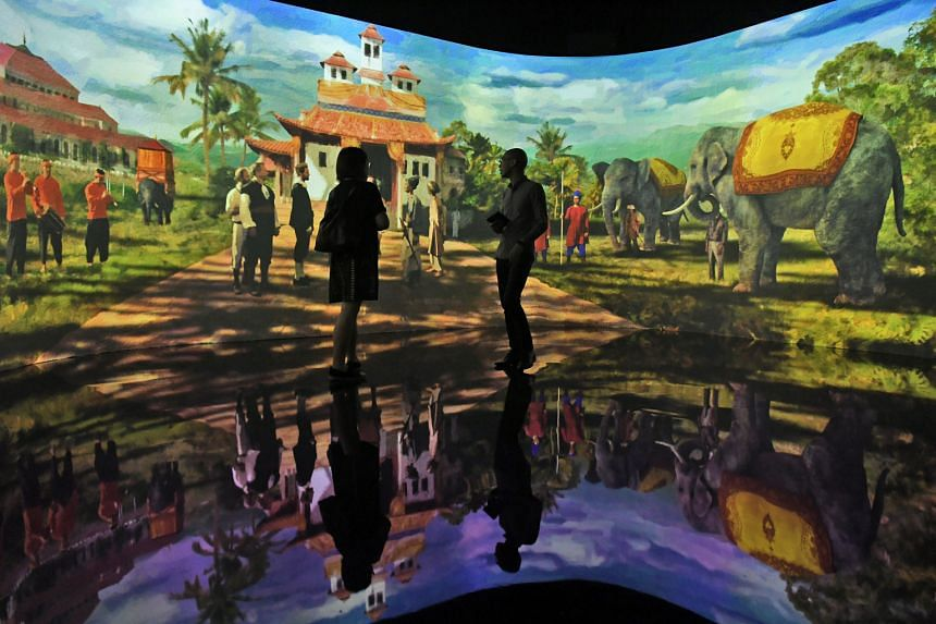 The National Museum of Singapore's bicentennial exhibition, An Old New World: From The East Indies To The Founding Of Singapore, 1600s-1819, which ends on March 29 next year.