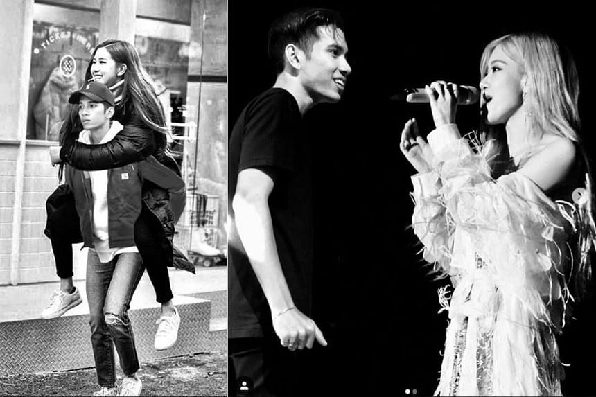 Malaysian singer Naim Daniel posted two edited photos of himself with Blackpink singer Rose, outraging fans of the South Korean girl group.