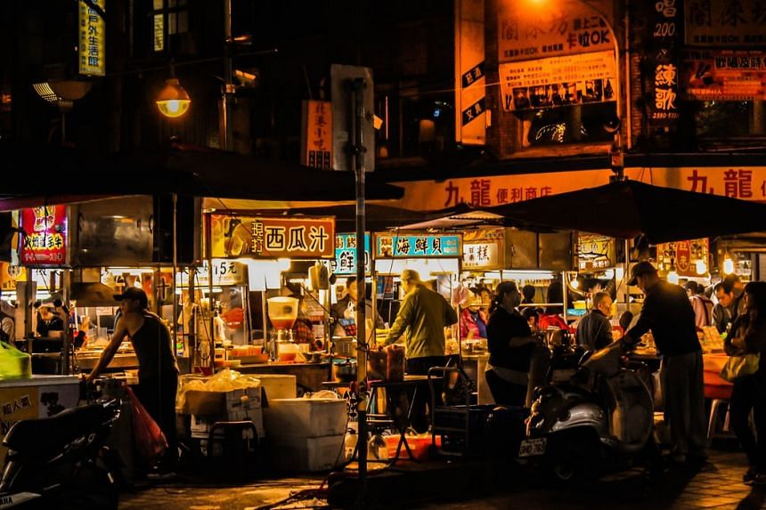 Taipei's Ningxia Night Market is a top destination among locals and tourists for Taiwanese snacks.