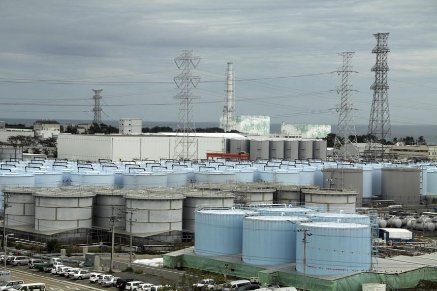 Tokyo Electric Power's Fukushima Daiichi plant seen in a photo taken on Oct 12, 2017.