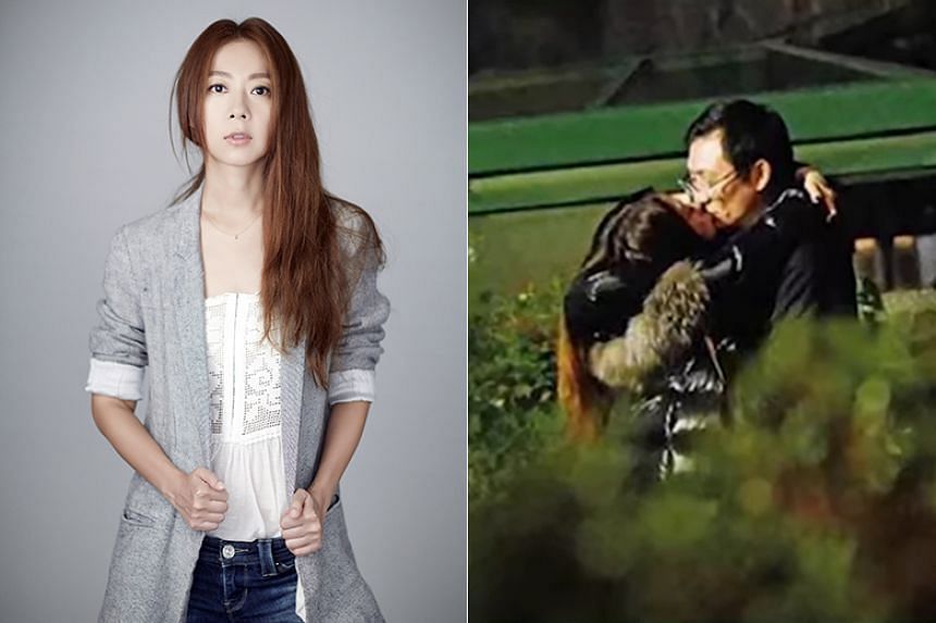 Cheer Chen is facing some heat over whether she had known the man's marital status beforehand.