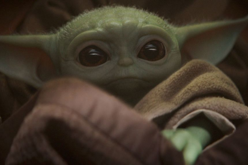 """The Mandalorian introduced the world to """"Baby Yoda"""" (above), whose character is known as """"The Child"""" in the show."""