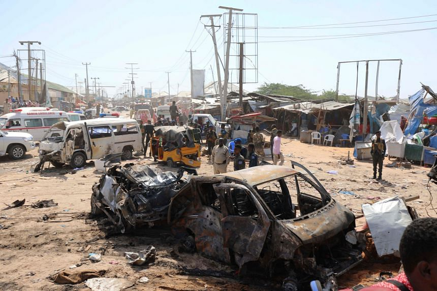 The blast occurred in a busy area of the city where traffic is heavy because of a security checkpoint and a tax office.