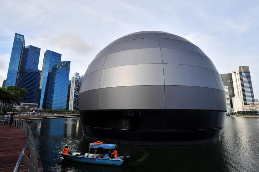 The dome-like structure in the prime waterfront location comes at a hefty price tag. Speculation is rife that it could be tech giant Apple's new retail outpost. Design experts said it is likely using the existing foundation of mega nightclub Avalon,