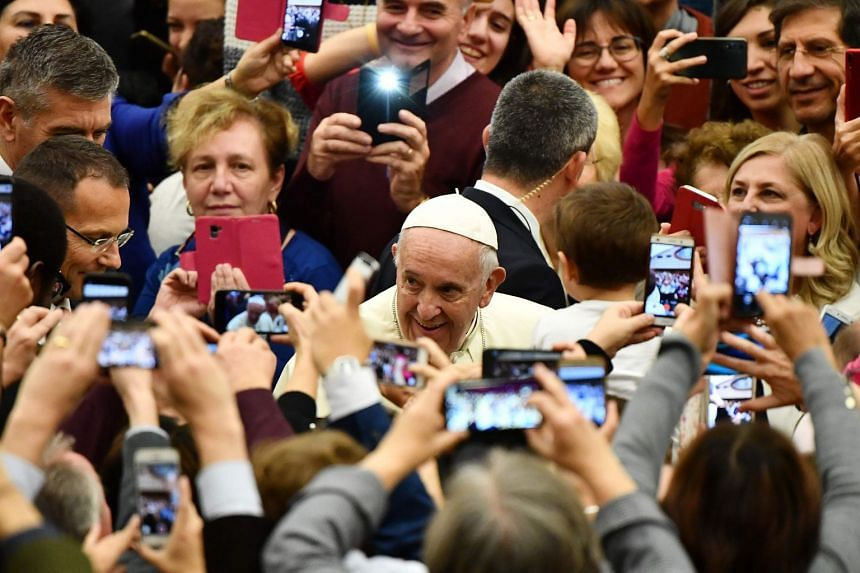 Pope Francis: It's Good To Talk, But Not On Mobiles