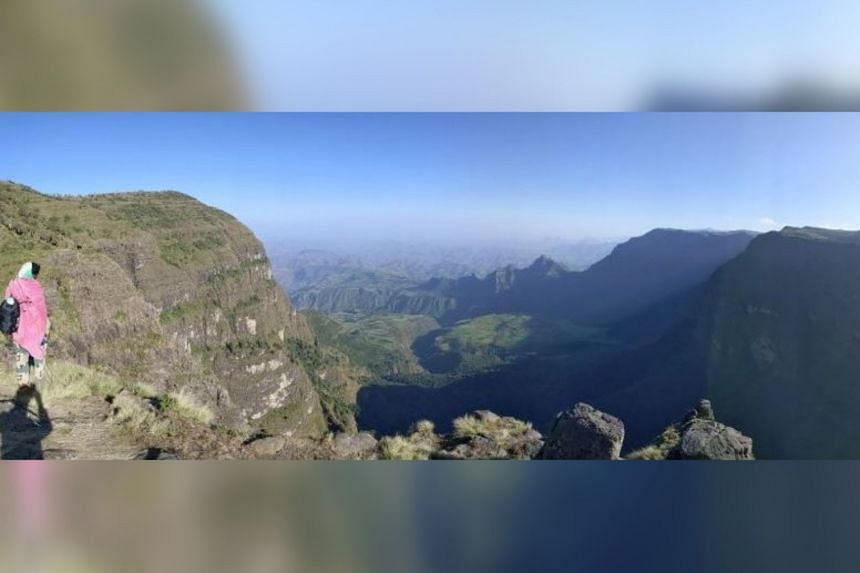 The cool and lushly verdant Simien Mountains National Park is one of Ethiopia's nine Unesco World Heritage Sites.