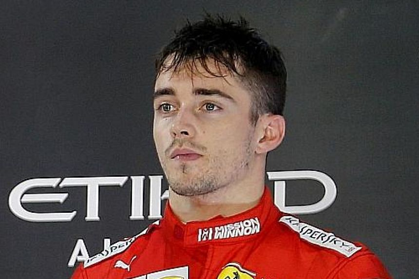 The rivalry between Charles Leclerc and Max Verstappen will be one to watch after both drivers clashed this season.