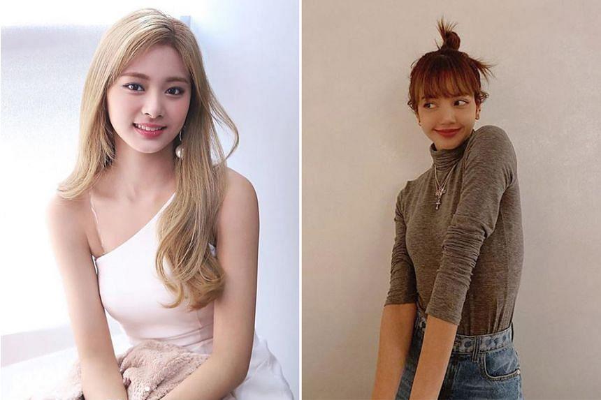 Most Beautiful Face: K-pop's Twice singer Tzuyu (left) and K-pop's Blackpink singer Lisa (right).