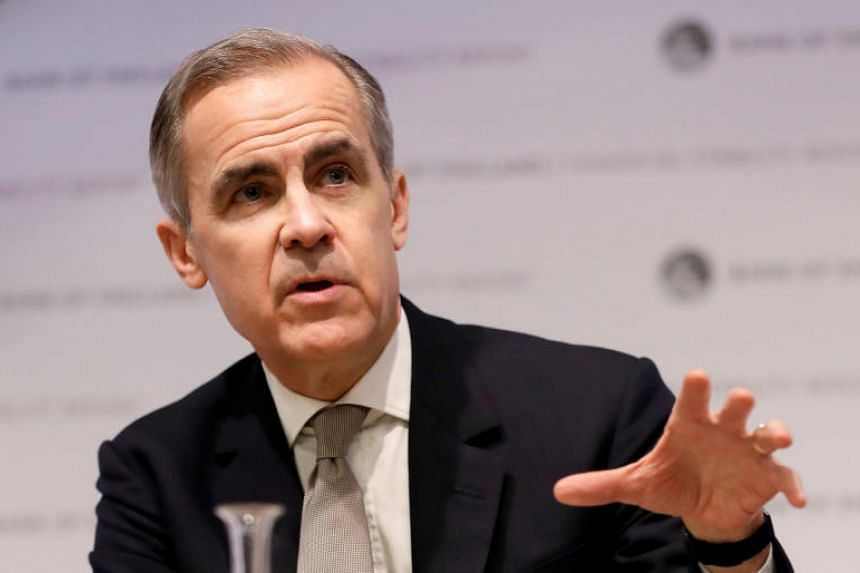 Carney Warns Financial Sector To