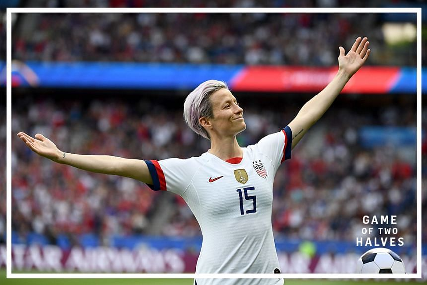 United States' forward Megan Rapinoe was the star of the show as she led her country to the 2019 Women's World Cup trophy in football as they beat the Netherlands in the final.