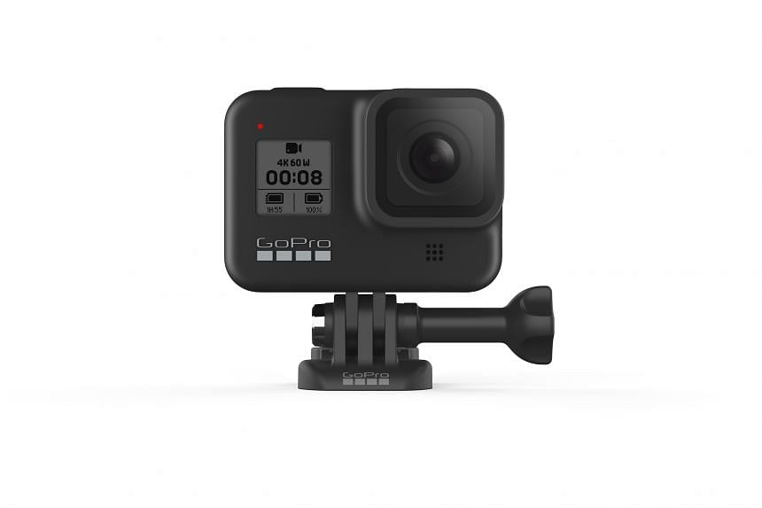 In terms of design, the Hero8 Black does not seem to differ much from its predecessor, the Hero7 Black.