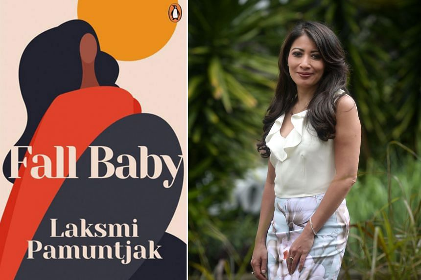 Fall Baby (above) is the sequel to the 2012 novel Amba, both by Indonesian writer Laksmi Pamuntjak (left).