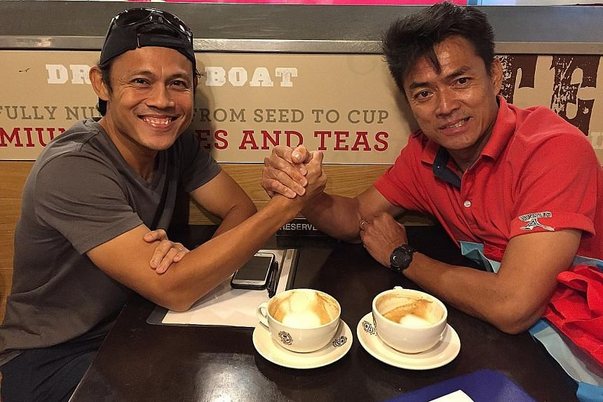 Hamkah Afik and Melvin Tan, who took charge of the national women's and men's relay teams last January, had contracts until 2021.