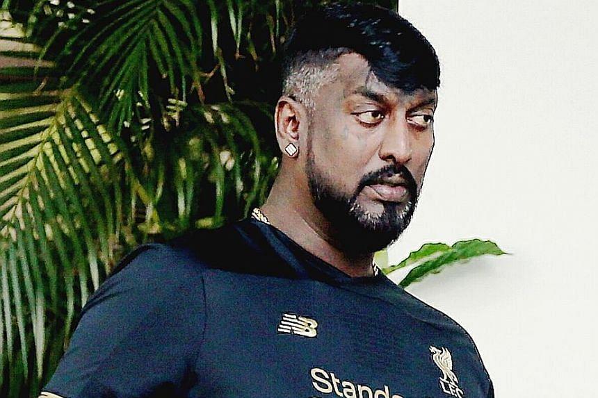 "Sivasarvanan Suppiah Murugan, 43, discharged a carton of ""Happy Boom"" fireworks in Little India."
