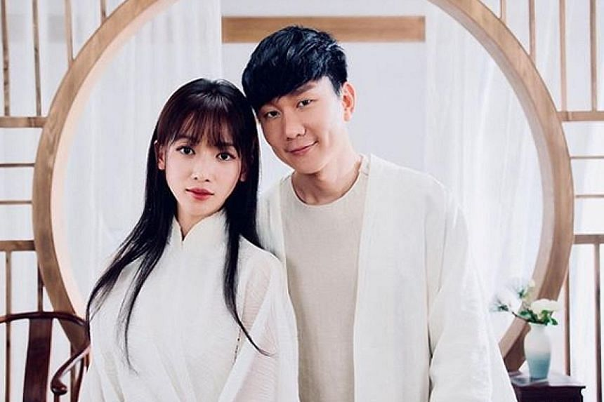 Wu Jinyan plays a rabbit spirit in JJ Lin's music video, which will go online at 6pm today.