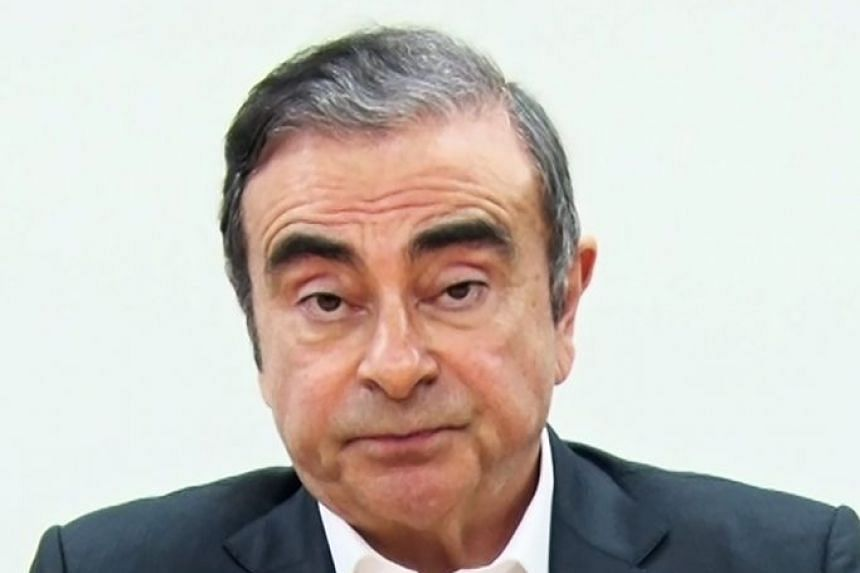 """Ghosn (above) released an e-mail decrying the """"injustice and political persecution"""" of the Japanese judicial system."""