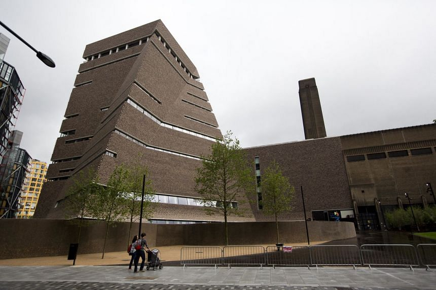 The Tate Modern (above) said the damaged artwork was being assessed by its conservation team.