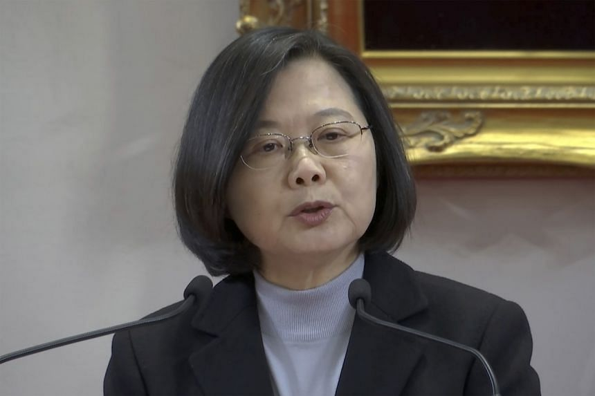 President Tsai Ing-wen defended the anti-infiltration law as having no effect on normal interactions.