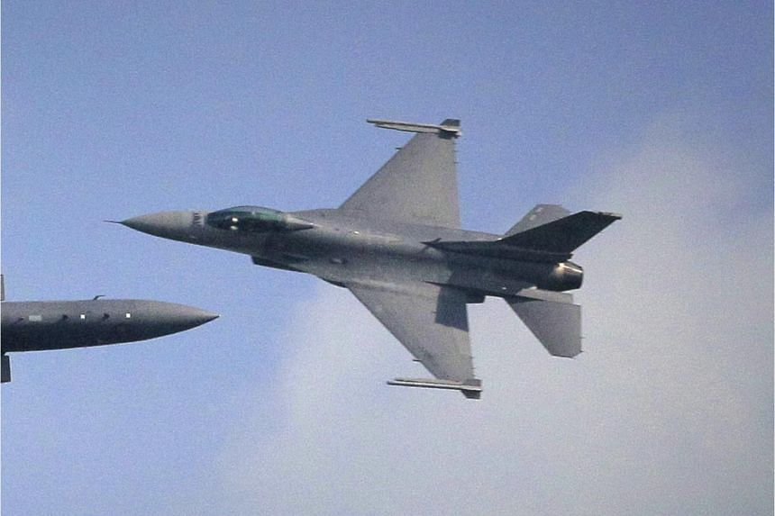 An RSAF plane in operation during an event in 2012.