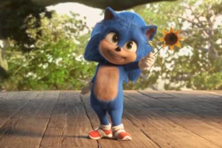 Baby Sonic.
