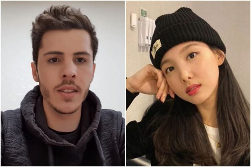 Josh previously shot videos of the places known to be frequented by Twice singer Nayeon, and asked shopkeepers to hand over his letters to the singer if they see her.