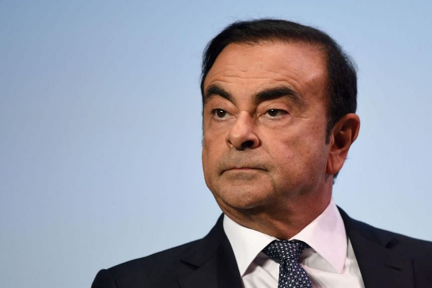 Former Nissan boss Carlos Chosn is also under investigation in France, but has not yet been charged with any crime in the country.