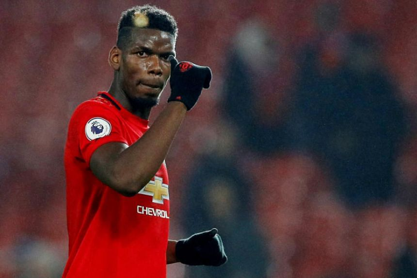 Paul Pogba has made just six starts in all competitions for Manchester United this season.