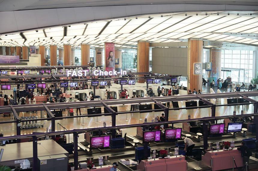 Between January and November last year, Changi Airport handled 61.9 million passengers.