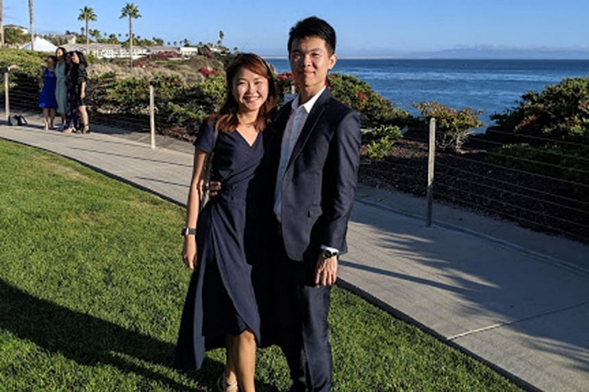 Ms Charmaine Chan and Mr Kelman Chiang tied the knot in July last year.