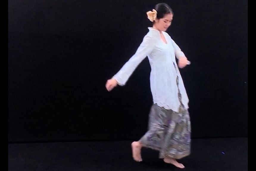 Artist Susie Wong has filmed women dancing and created an immersive video installation.