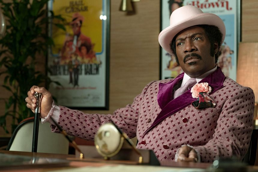 Still from the film Dolemite Is My Name starring Eddie Murphy.