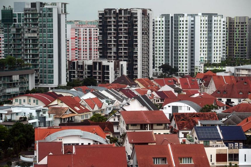Fourth-quarter price rise was driven largely by those of landed private homes, whose prices rose 4 per cent quarter on quarter.