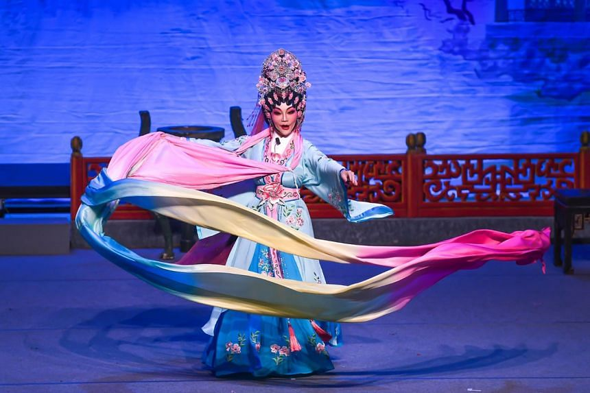 Chinatown's Chinese New Year celebrations include a concert which will offer a selection of popular Cantonese opera excerpts.