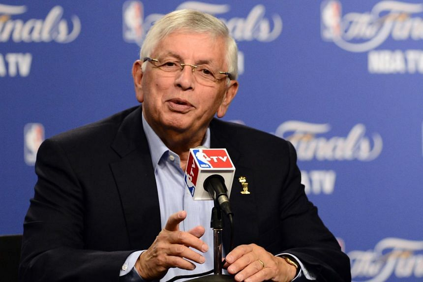 Former NBA commissioner David Stern oversaw the debut of active NBA talent in the Olympics and the sport's expansion to a popular worldwide television phenomenon.