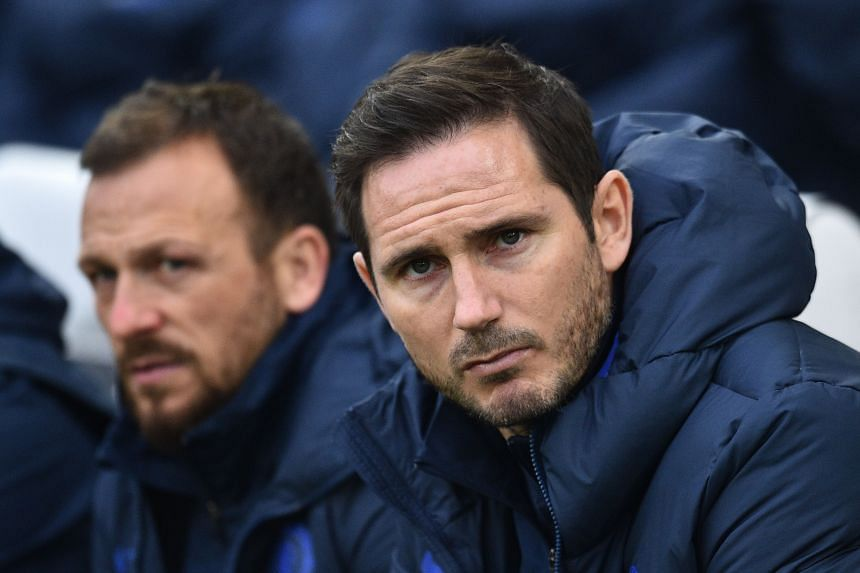 Chelsea manager Frank Lampard arrived last summer with the club suspended from the market.