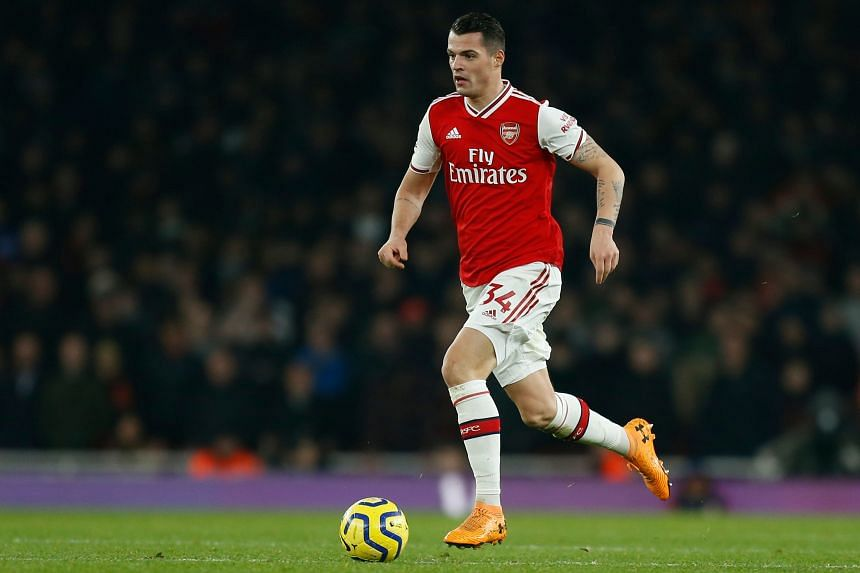 Arsenal midfielder Granit Xhaka was in the firing line earlier in the season after he reacted furiously to fans booing him when he was substituted in a match against Crystal Palace.