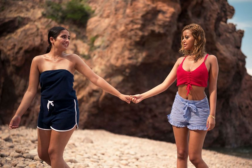Mina Farid (left) and Zahia Dehar star in An Easy Girl, which was shown at last year's Cannes Film Festival.