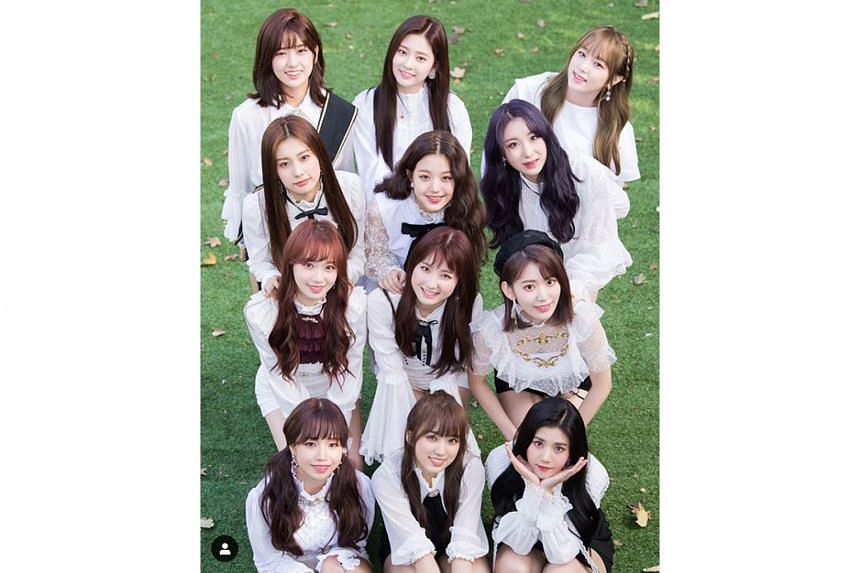 Iz*One, born out of audition show Produce 48, were forced to cancel the release of their first full album in November last year in the wake of the vote-rigging scandal.