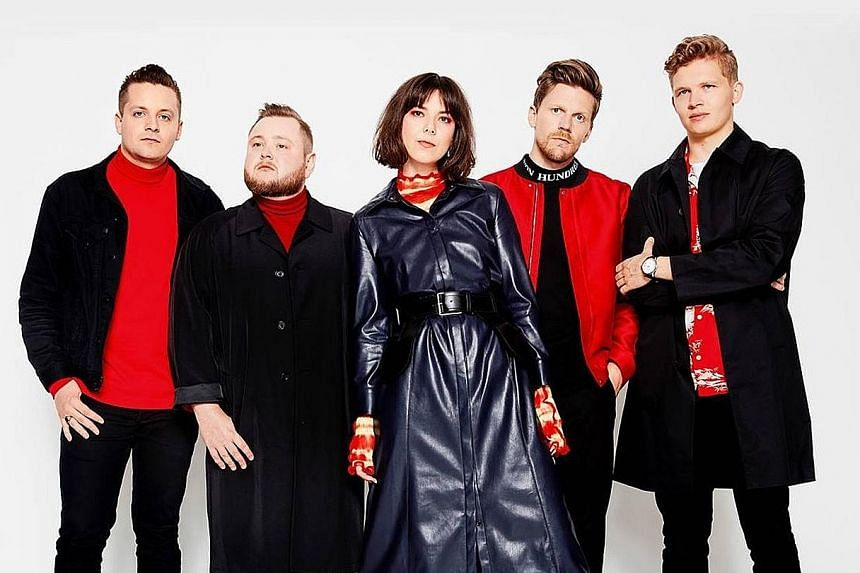 Icelandic indie band Of Monsters And Men.