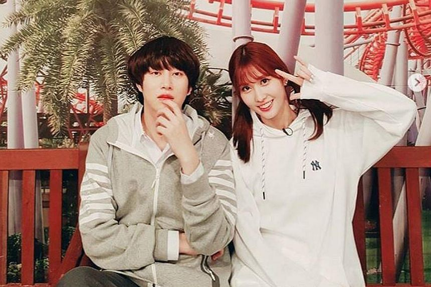 LOVE IS IN THE AIR: The first K-pop relationship of the new year has emerged. Heechul, a member of veteran boy band Super Junior, and Momo of popular girl group Twice, have confirmed they are dating. South Korean news outlet Market News released the