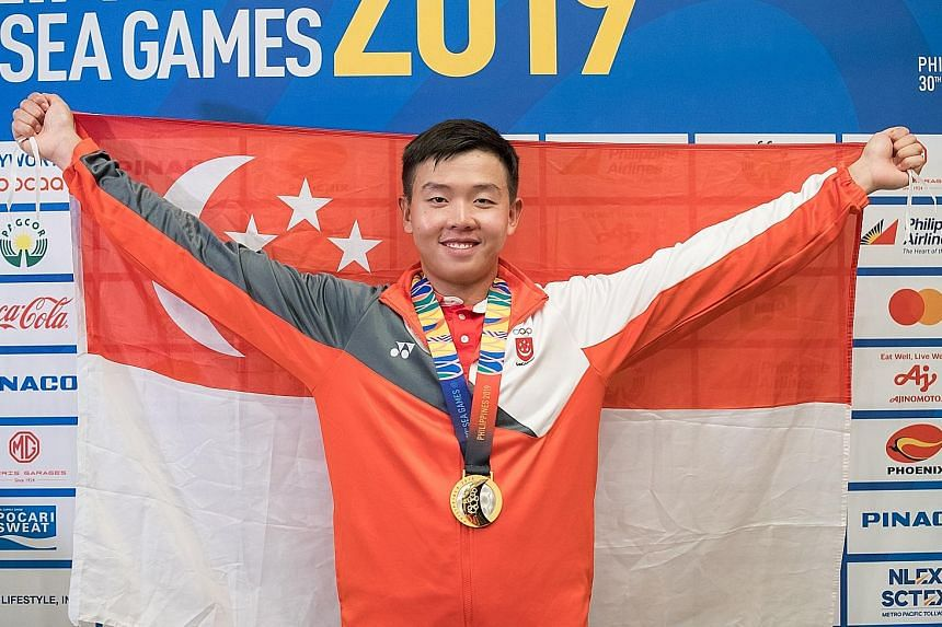 Ryan Lo's Laser Standard victory at the SEA Games last month was Singapore's only sailing gold from the Philippines. The sailors also returned with five silver medals, their worst medal haul since 1991. PHOTO: SPORT SINGAPORE