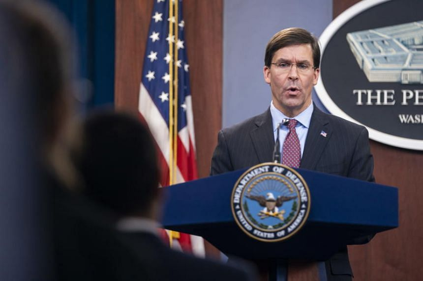 US Defence Secretary Mark Esper said the United States still sees a political agreement on denuclearisation as the best path forward on North Korea.