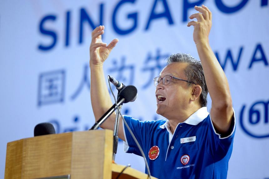 The Straits Times understands that the new alliance will be led by Singaporeans First party secretary-general Tan Jee Say, and plans to field about 30 candidates in the election.