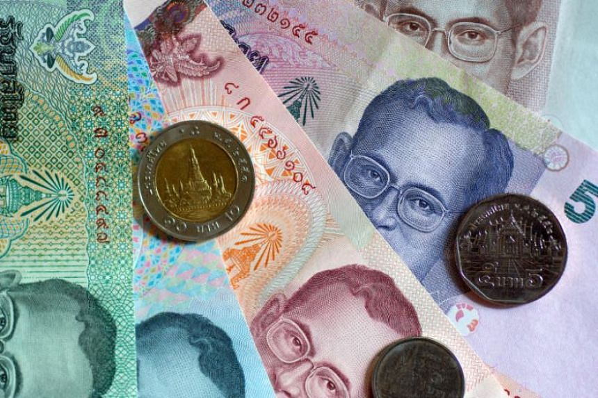 The thai baht, driven by the country's large current account surplus, gained 8.8 per cent in 2019.
