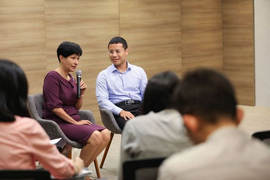 Second Minister for Finance and Education Indranee Rajah and Minister for Social and Family Development Desmond Lee gave updates on the new citizen engagement initiative Singapore Together on Dec 30, 2019.
