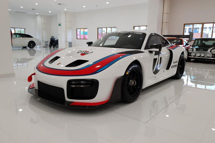 The 700hp Porsche 935 is one of only 77 units manufactured, and the only one assigned here.