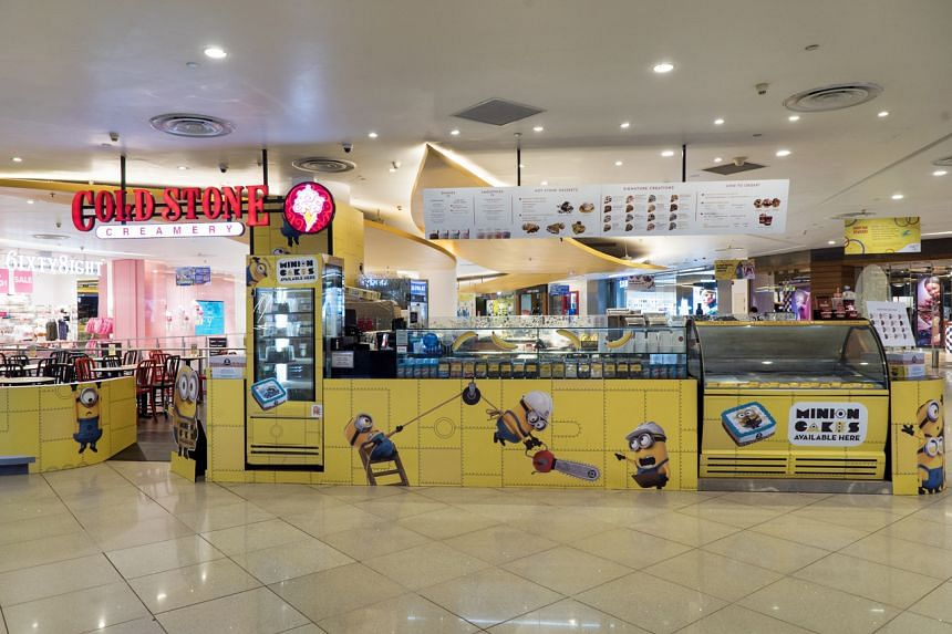 American ice cream chain Cold Stone Creamery will close its outlets at Waterway Point, VivoCity (above), and HillV2 mall in Hillview Rise on Jan 31, 2020.